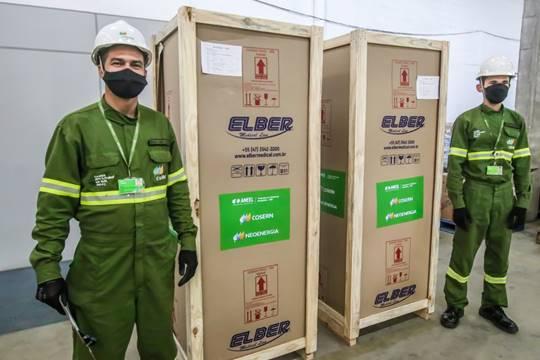 Municípios recebem refrigeradores para vacinas doados pela Cosern - Secretaria de Estado da Saúde Pública